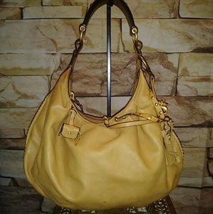 Gorgeous TAN Leather JUICY COUTURE Shoulder bag